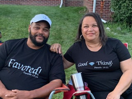Favored & Good Thing Couple's Shirt