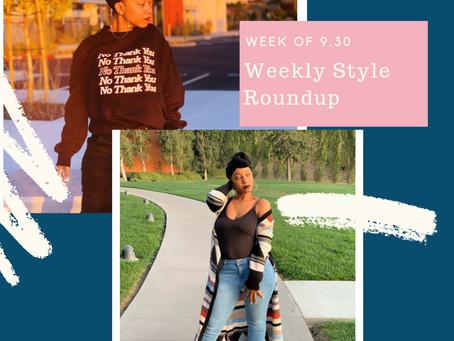 Weekly Style Roundup – Week of 9.30