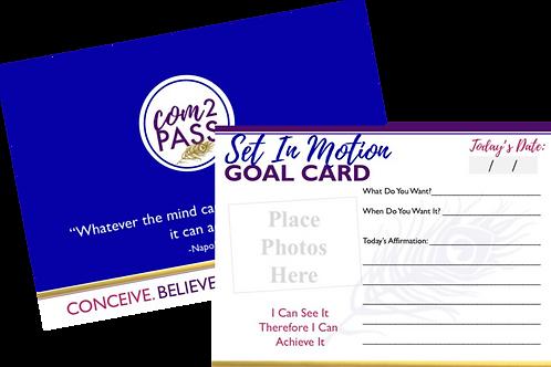 Set In Motion Goal Cards
