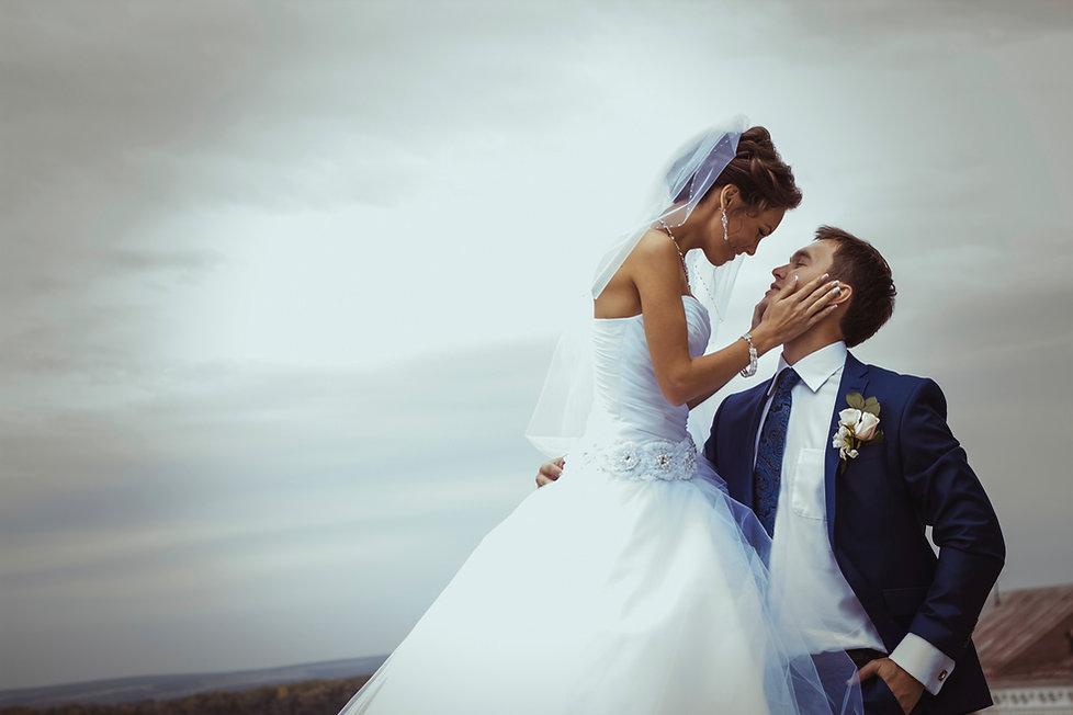 結婚式の肖像画