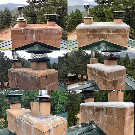 Chimney Tune-up!_Pointed the bad joints,