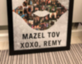 Bat Mitzvah Collage