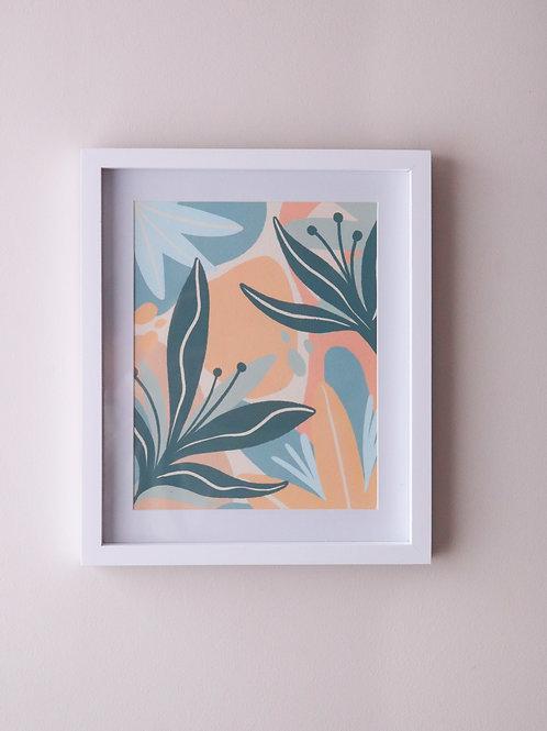 Print Wild Flora