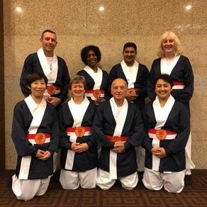 Team GB receives a HongIk Award in 7th International Kookhak Ki Gong Competition in Korea