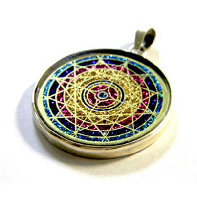 LifeParticle Crystal Pendant