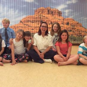 'Power Brain' Kids Yoga Class is a success!