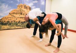 Partner stretching