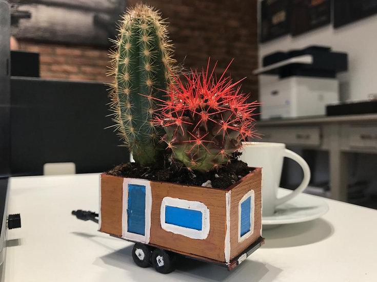 Casa Lokomotif Masa Kaktusu 8cm