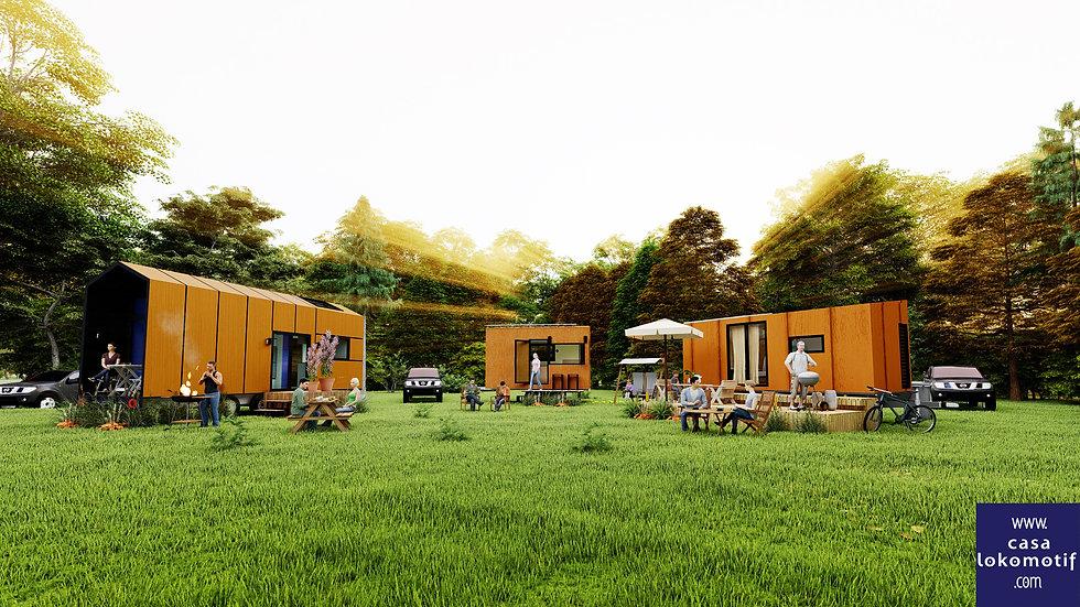 tiny house - casa lokomotif