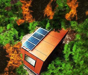 tinyhouse pelliniloft full off grid