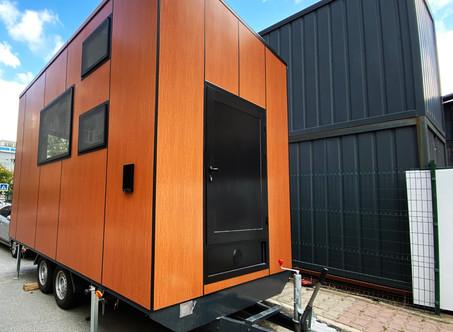 Karavan Ev l Casa Lokomotif Mobil Küçük Evler