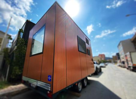 """Karavan ve Tiny House Akımlarına Yeni Bir Nefes : """"Casa Lokomotif"""""""