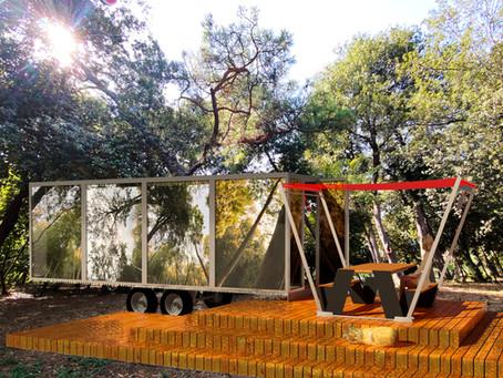 Aynalı Cam Tiny House Karavanımızı gördünüz mü?