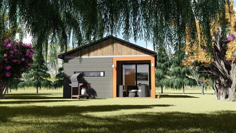Modular home / Double container prefabricated house special design