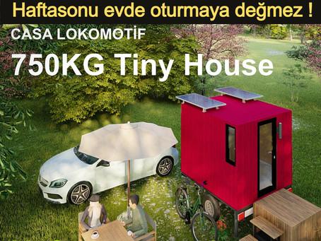 750kg Tekerlekli Tiny House ile haftasonu şehirden kaçın !
