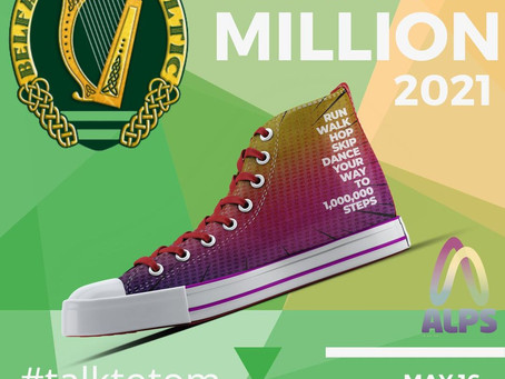 Belfast Celtic are the first to join Walk a million 2021
