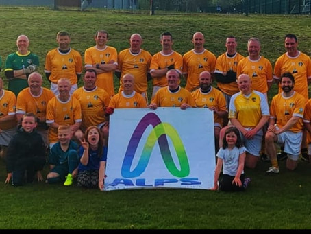 Antrim Masters GAA support ALPS