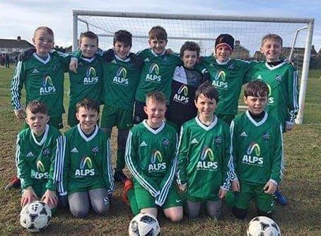 Alps creates Partnership with Downpatrick Football Club