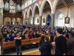 1000 children sing for ALPS