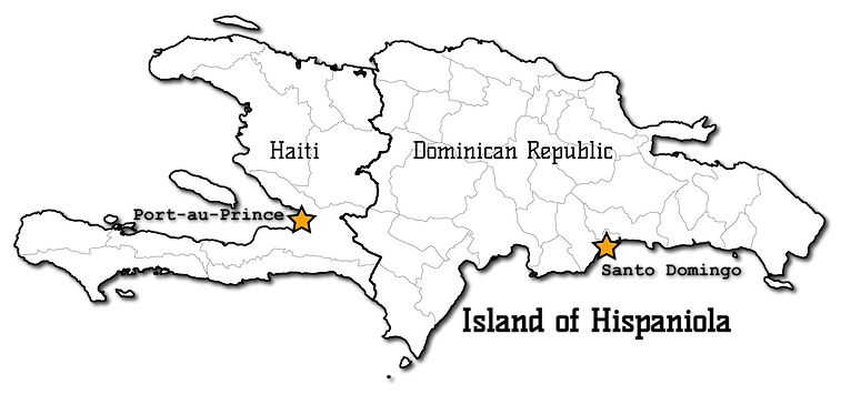 Island of Hispaniola