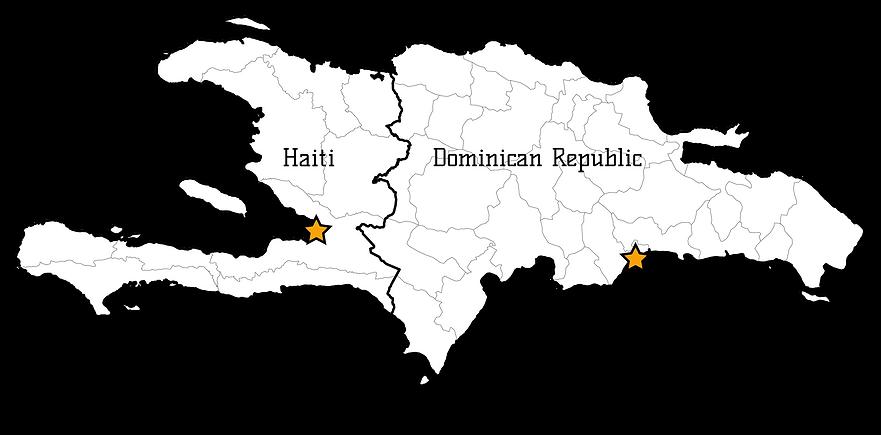 Island of Hispaniola
