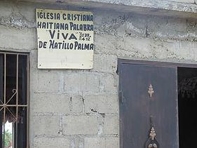 Hatillo Palma Church Exterior