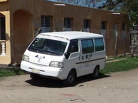Old Haitian Ministries Van
