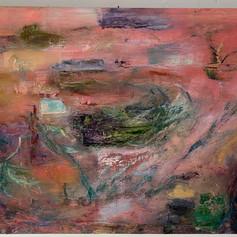 Vernal Pool, 36x48, Oil on cavas