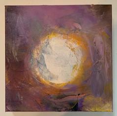 Intuition, 12x12, Oil on cavas