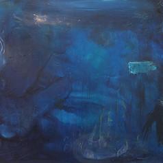Luminous Lagoon, 36x48, Oil on canvas
