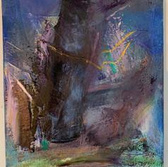 Yello Bird, 14x11, Oil on canvas