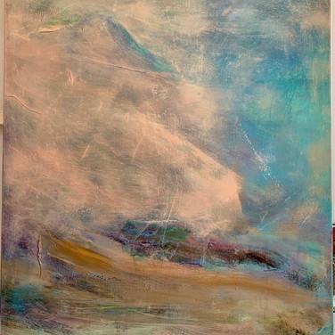 Calypso, 40 x 30, Oil on canvas