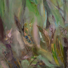 Eden, 40x30, Oil on cavas