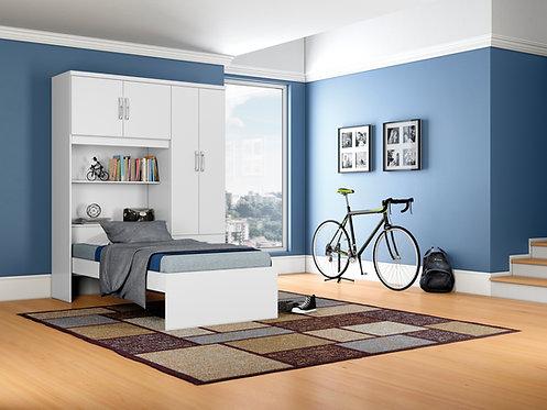Amazon Wardrobe 4 Doors 3 Drawers and Single Bed
