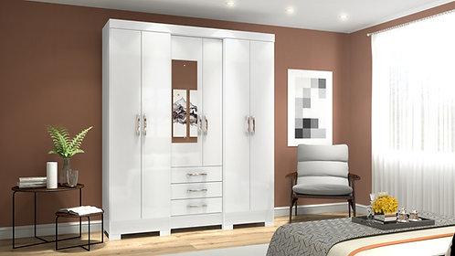 RIO 6 Doors 3 Drawers Wardrobe