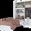 Thumbnail: Amazon Wardrobe 4 Doors 3 Drawers and Single Bed