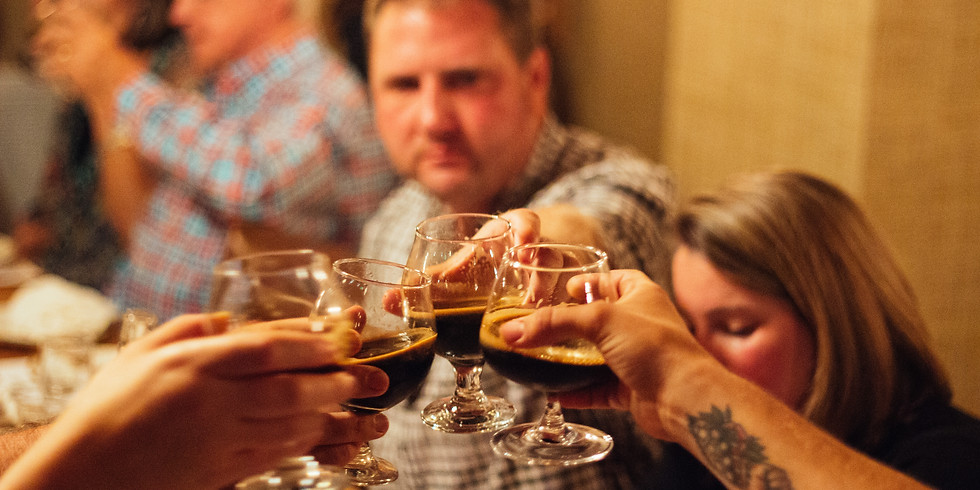 Community Table Beer Pairing Dinner.