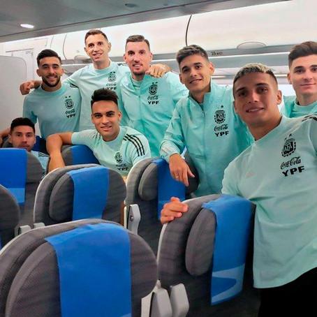 La Selección argentina regresa al país luego del escándalo en Brasil