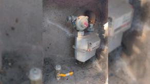 Robo masivo de medidores de gas en barrio Santillán