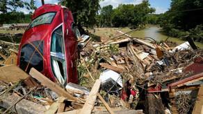 Inundación devastadora en Estados Unidos