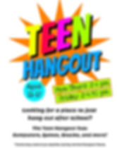 Teen Hangout sign Fall 19.jpg