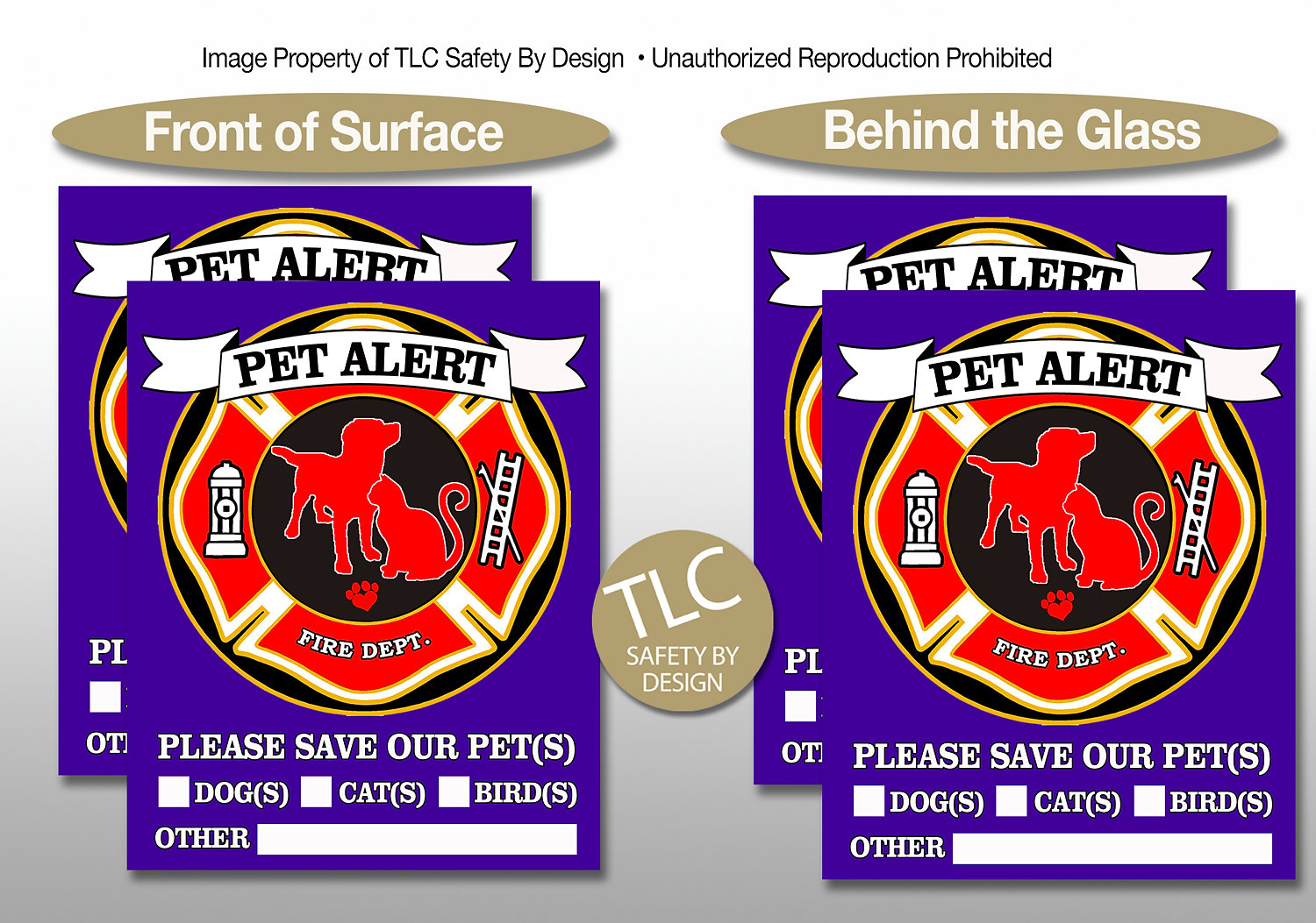 TLC Safety By Design Safety Products For Adults Kids Pets - Window decals for bird safety