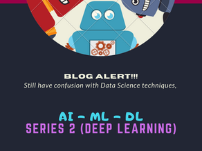 Deep Learning - An Intuition behind the technology