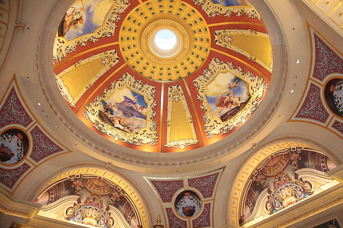 Dome Venetian Macau Resort_Afresco Wall