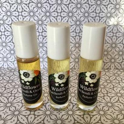 Patchouli & Sweet Orange Perfume Oil