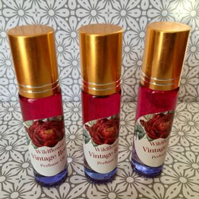Vintage Rose Perfume Oil