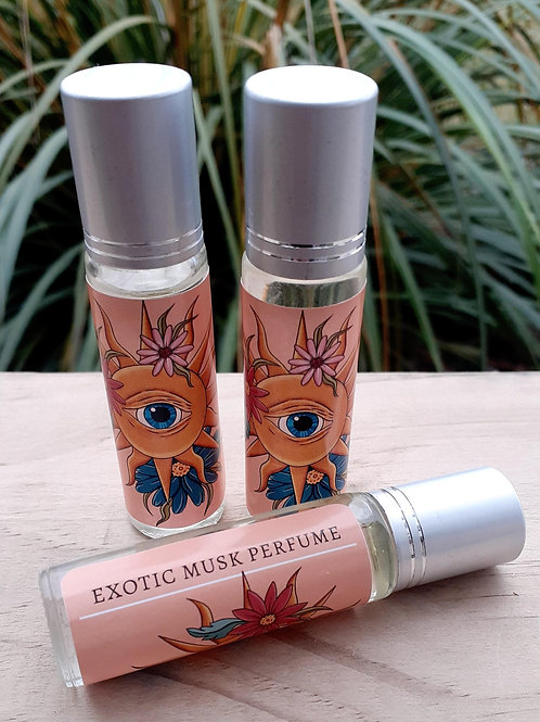 Exotic Musk Perfume Oil