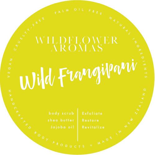 Wild Frangipani Whipped Body Scrub