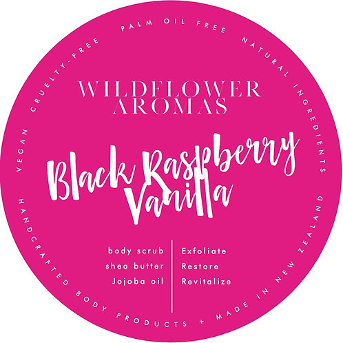 Black Raspberry Vanilla Whipped Body Scrub