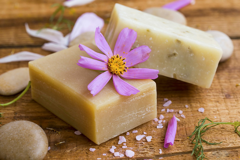 Natural homemade soap with flower extracts and essential oil, home-spa therapy.jpg